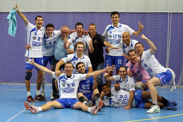 AMSL Fréjus Volley 2013-2014 champion Nationale 2